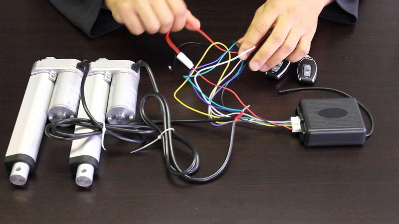 Control Linear Actuator via WiFi