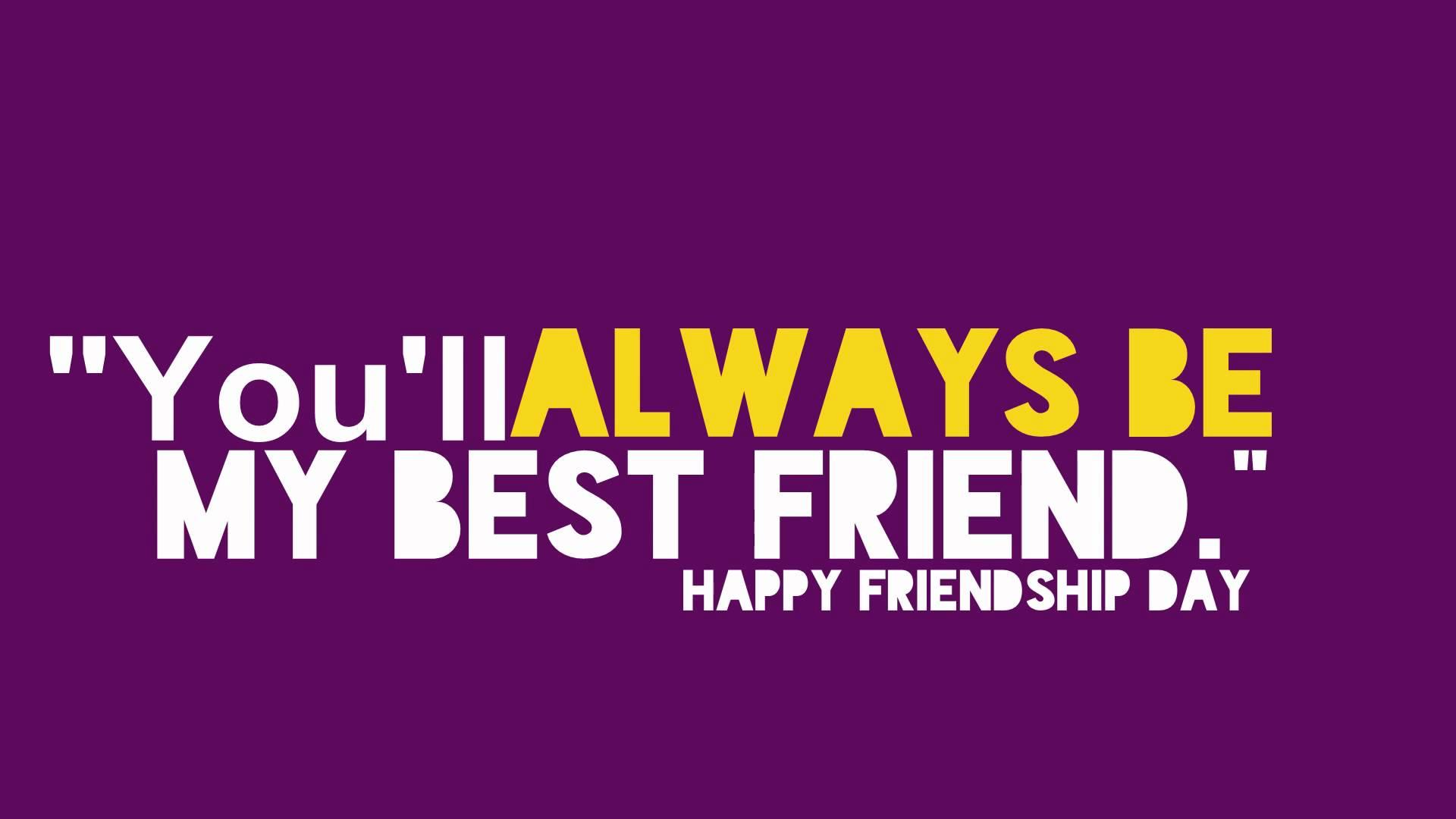 Happy Friendship Day HD Wallpaper