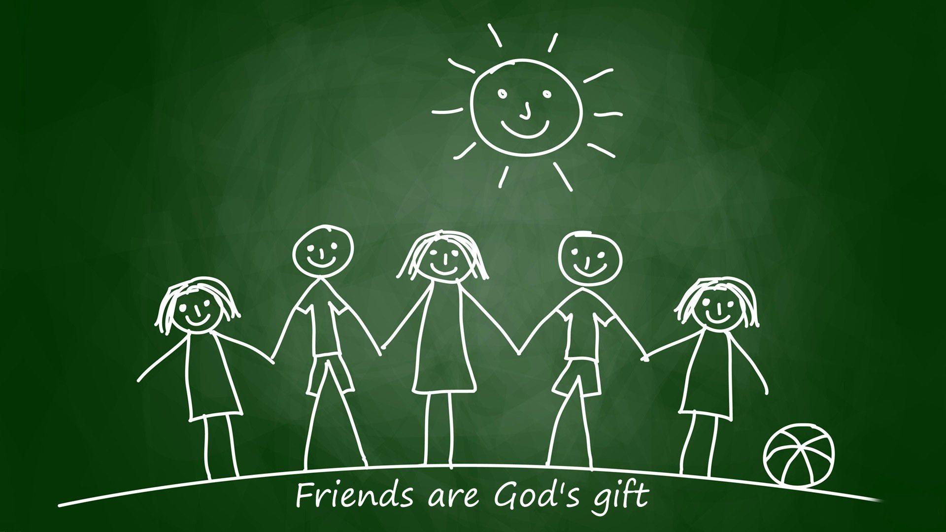 Happy Friendship Day Wallpaper HD