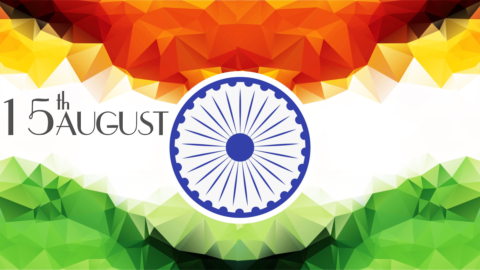 Independence Day 15 August India Flag