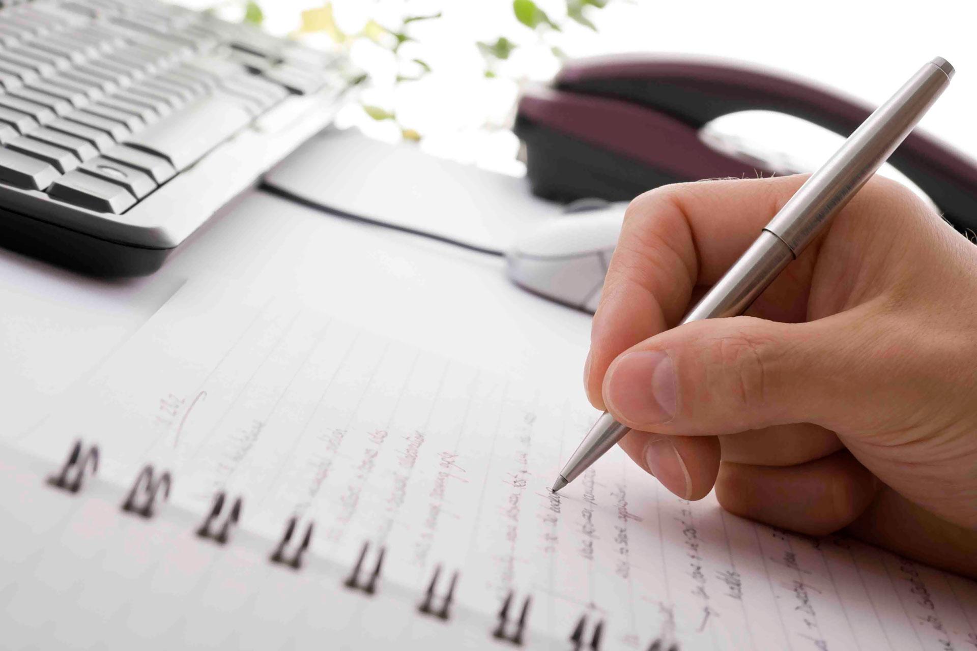 Essential Writing Habits