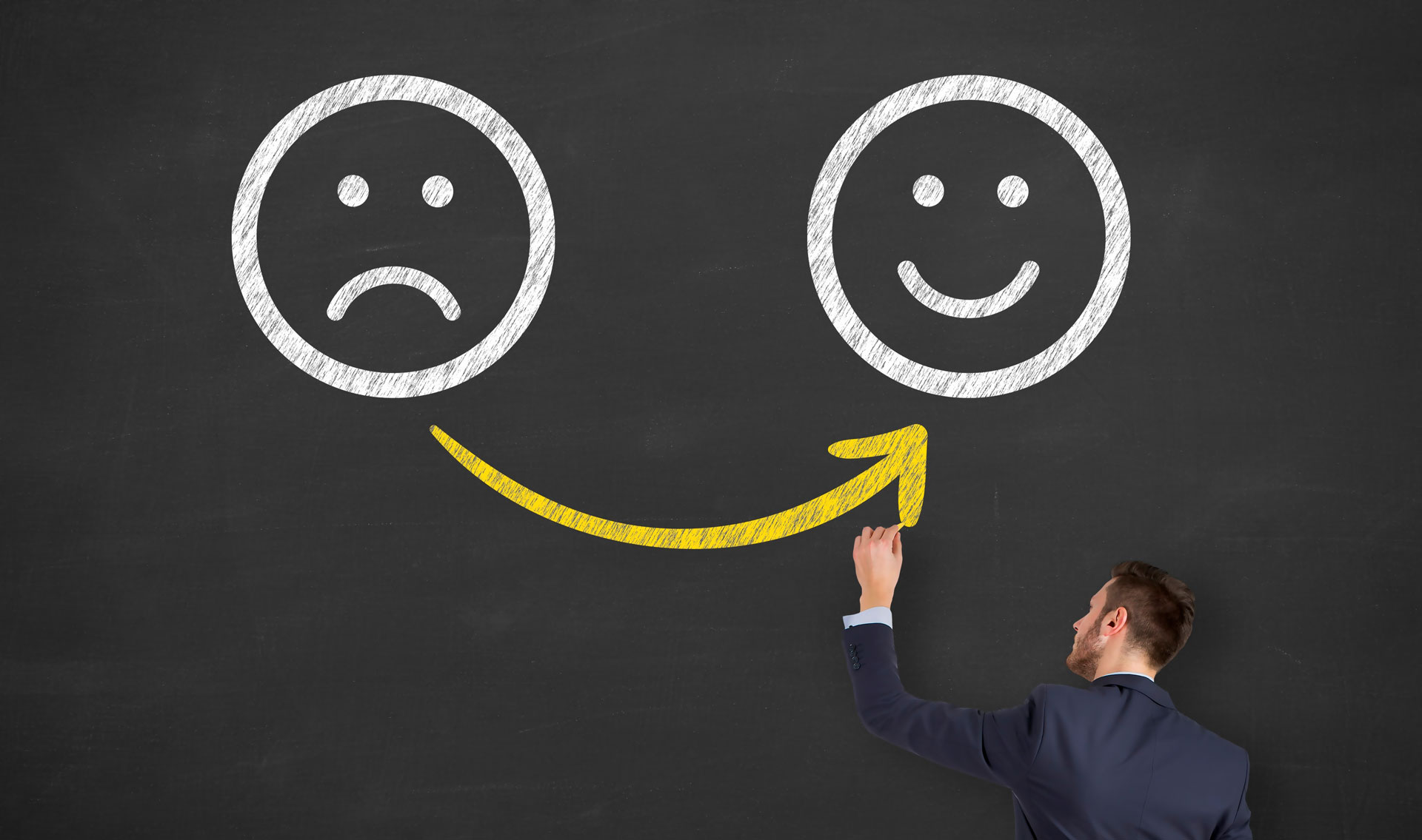 Make Unhappy Customers to Happy Customers