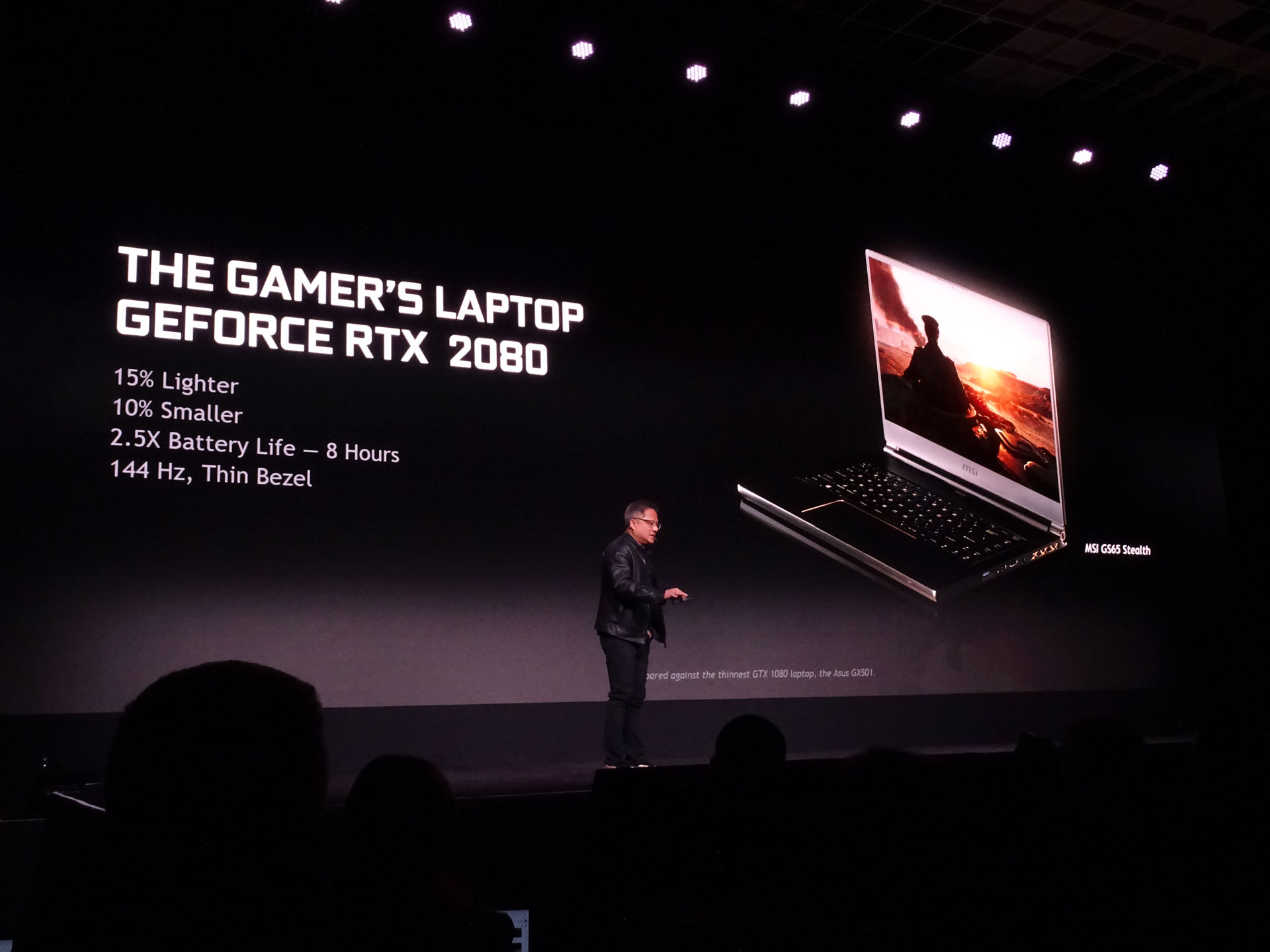 NVidia GeForce RTX 2080: CES 2019